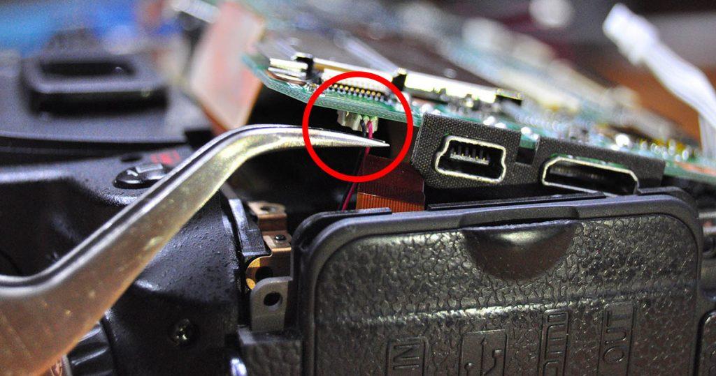Nikon D90 Söküm