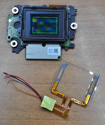 Nikon D90 Sensör
