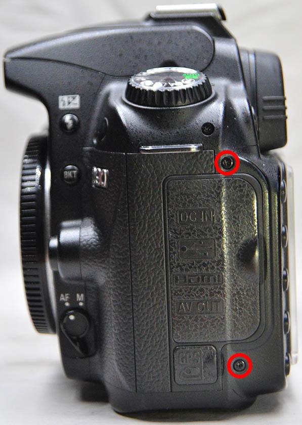 Nikon D90 Usb hdmi gps lastik kapak
