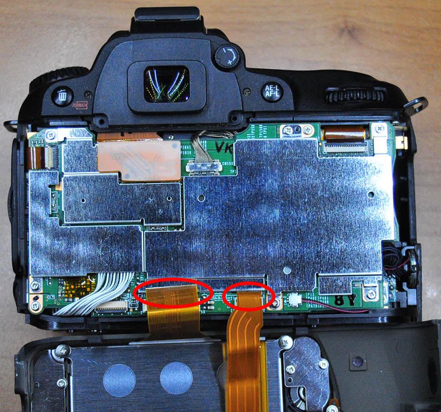 Nikon D90 sökümü