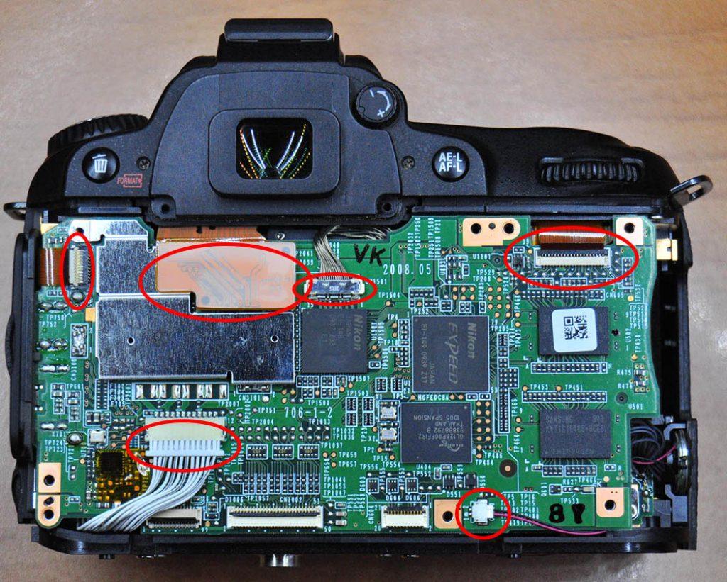 Nikon D90 Yedek Parça