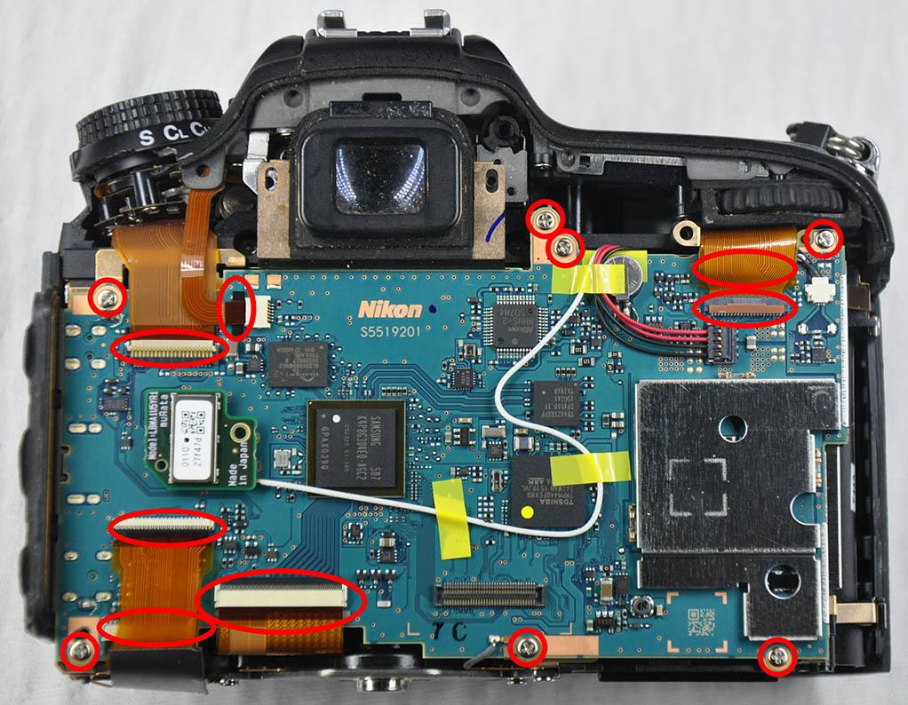 Nikon D7200 Tamir