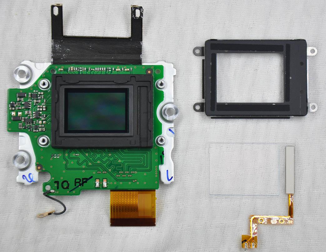 Nikon D7200 sensör sökümü
