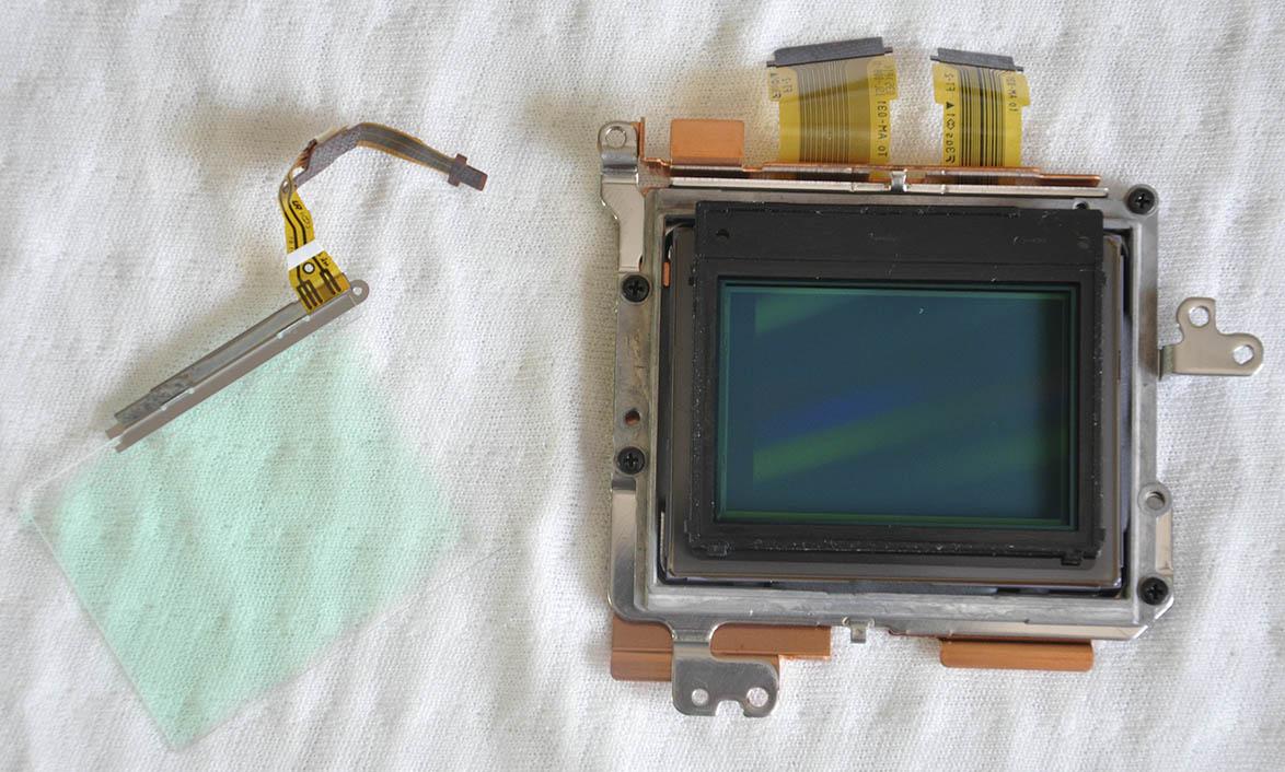 Sony A7R sensör temizlenmesi