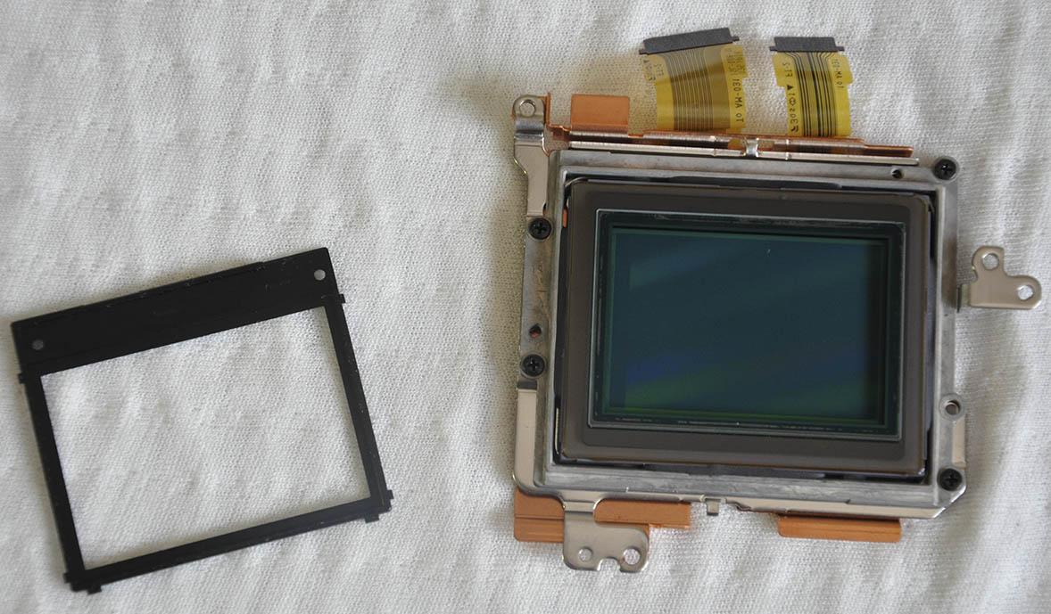 Sony A7R sensör sökümü