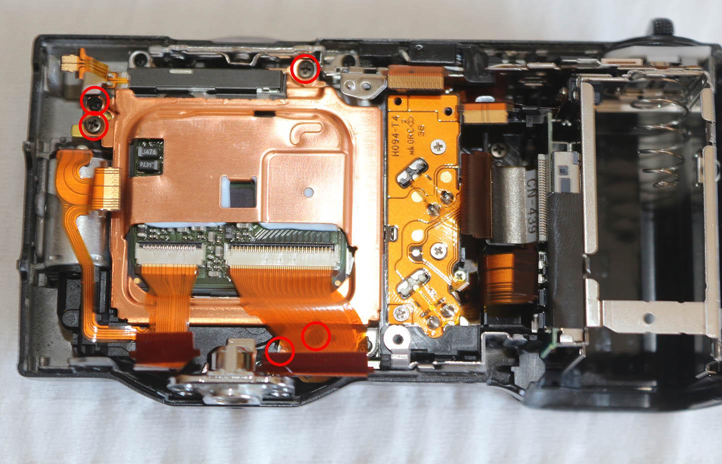 Sony Nex-5 Sensor